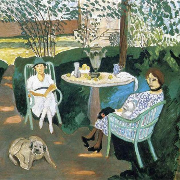 "Henri Matisse's ""Tea in the Garden"" (1919)"