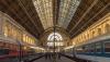 Interior of Budapest train station