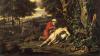 """Parable of the Good Samaritan."" Oil on canvas. Jan Wijnants, 1670."