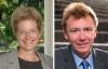 Headshots of Ann Taves and Graham Ward